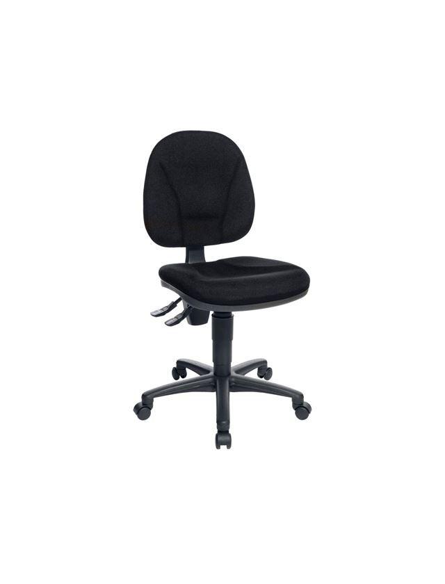 Stühle: Bürodrehstuhl Classic + schwarz