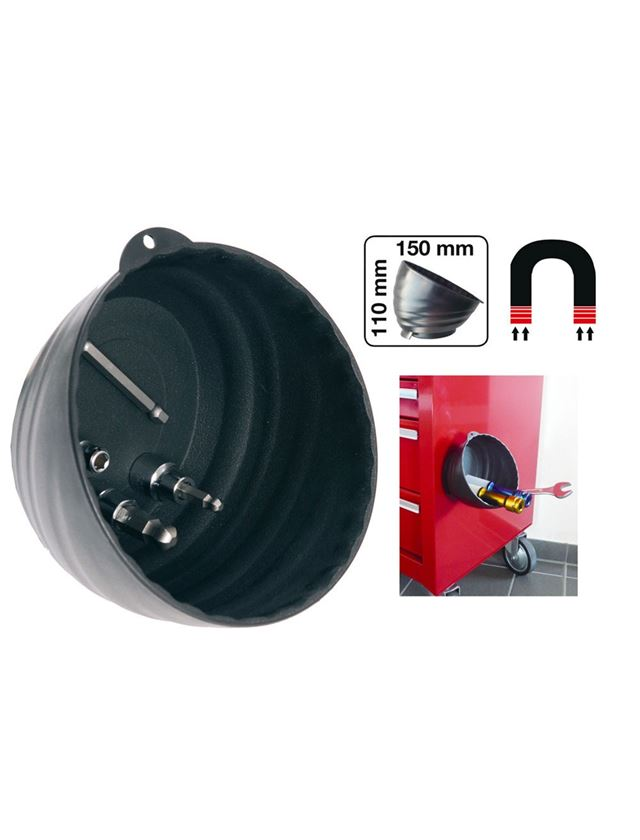 Small parts: Magnetic Dish + black