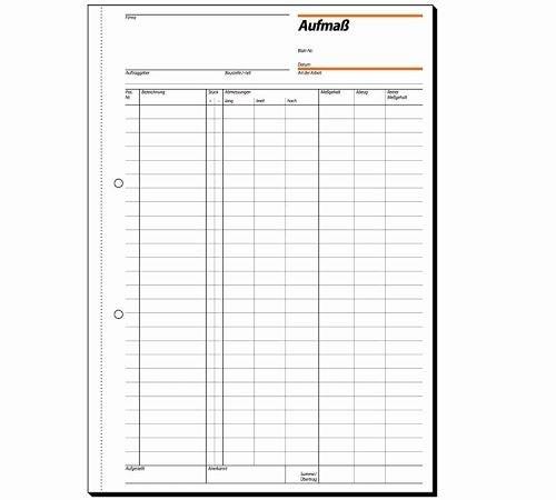 Papierprodukte: Sigel Formularbücher Aufmaßbuch