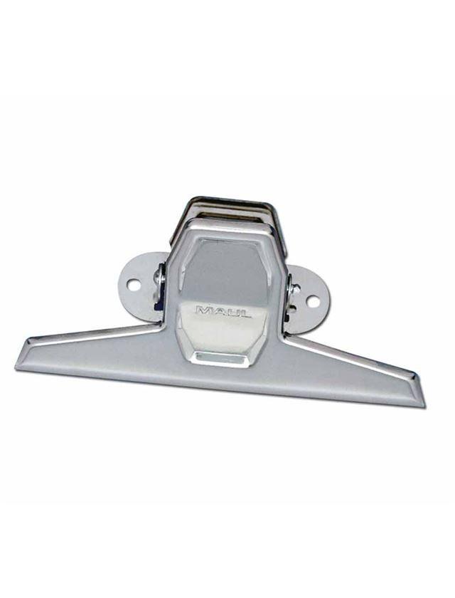Desk accessories: MAUL Clipboard Clip + nickel