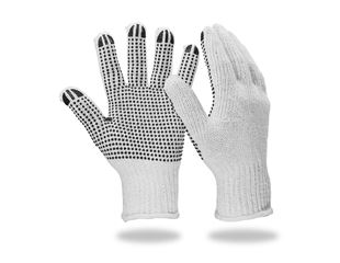 Gants en tricot en PVC Black-Point
