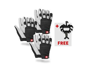 3x Winter gloves Ice + FREE key-tool