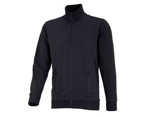 e.s. Sweat jacket poly cotton