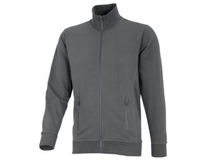 Sweatjacke poly cotton