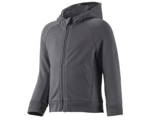 e.s. Hoody sweatjacket cotton stretch, children's