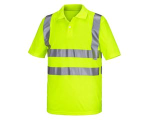 High-vis polo shirt