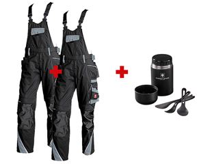 SET: 2x Bib & brace e.s.motion