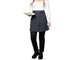 Mid-Length Apron stripe e.s.fusion, ladies'