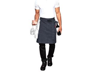 Mid-Length Apron stripe e.s.fusion, men's