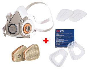 3M Kit de masques 6200