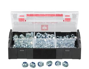 Hex locking nuts, DIN 985, 625 pieces