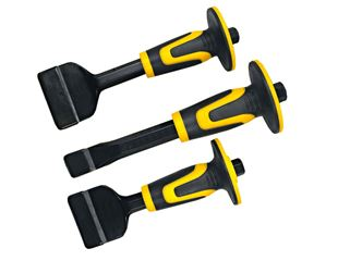 3-part masonry chisel set