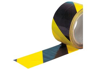 Warning tape, self-adhesive