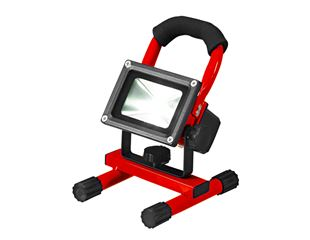 LED Spotlight Rechargeable battery Lamp, red