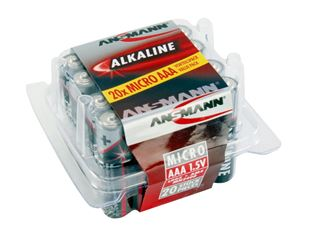 Ansmann Batteries - economy pack, 20 Items