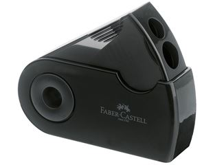 Faber Castell Twin-hole canister pencil sharpener