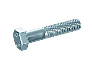 DIN 931 Hexagonal screws 8.8 zinc-plated