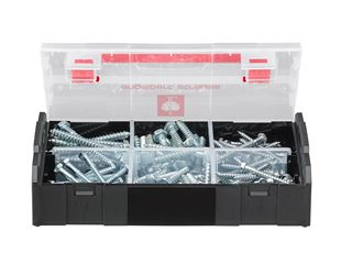 Hex wood screws, DIN 571, 120 pieces