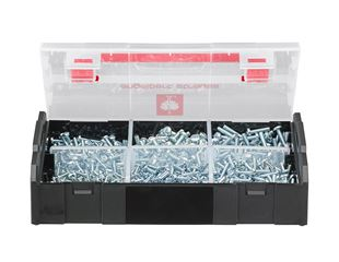Fillister head screws, DIN 7985, 900 pieces