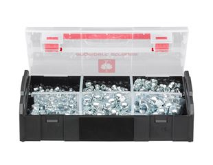 Cap nuts, DIN 1587, 395 pieces