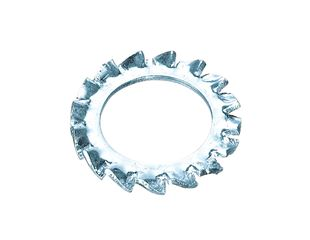 Serrated washer DIN 6798 Form A, external teeth