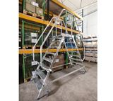 KRAUSE Hand rail Platform Ladder