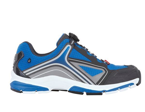 O2: e.s. O2 Work shoes Minkar + gentian blue/graphite/white