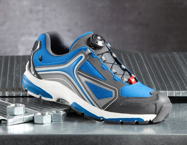 O2: e.s. O2 Work shoes Minkar + gentian blue/graphite/white 1