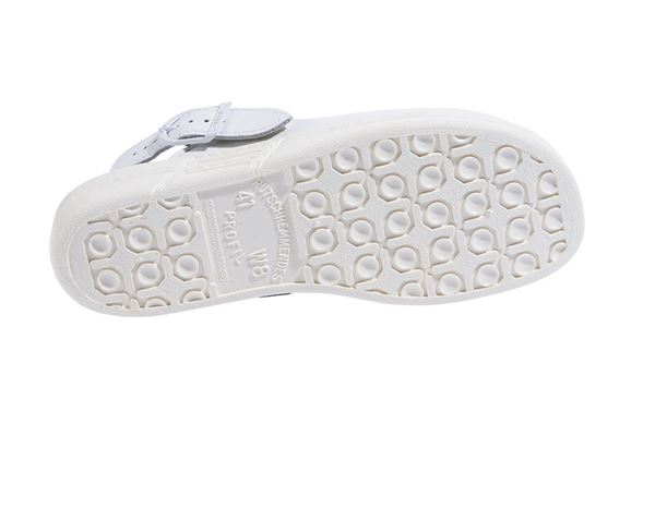 OB: ABEBA OB Ladies' and men's clogs Tonga + white 1