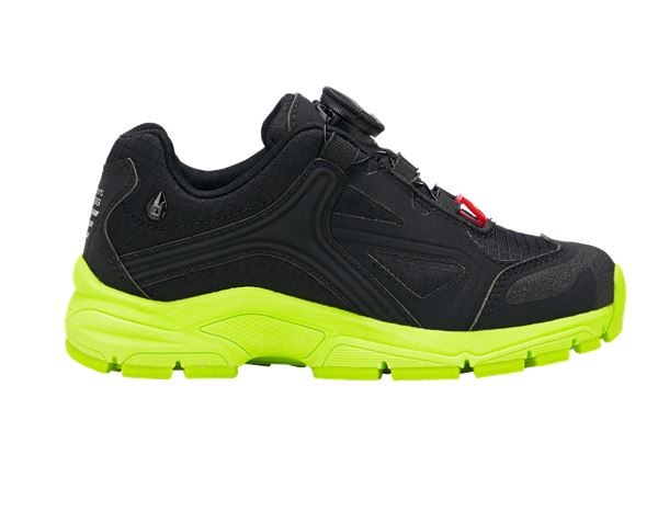 Kids Shoes: e.s. Allround shoes Corvids, children's + black/high-vis yellow