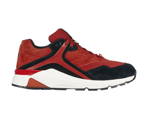 O1: e.s. O1 Work shoes Ptah + desertred/oxidblack