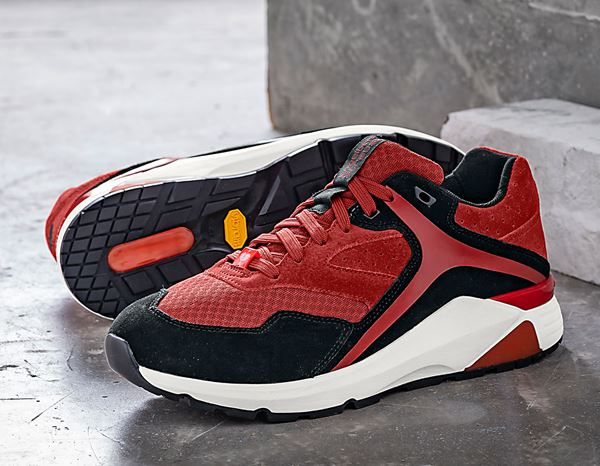 O1: e.s. O1 Work shoes Ptah + desertred/oxidblack 1