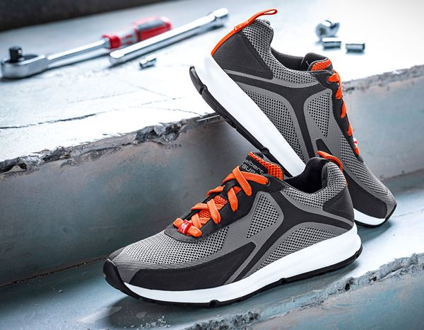 O1: e.s. O1 Work shoes Uranos + cement/redorange 1