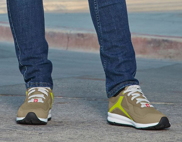 O1: e.s. O1 Work shoes Uranos + sagegreen/kiwi 4