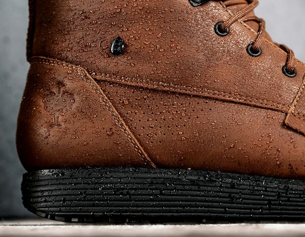 O2: e.s. O2 Work shoes Segamo mid + cognac 2
