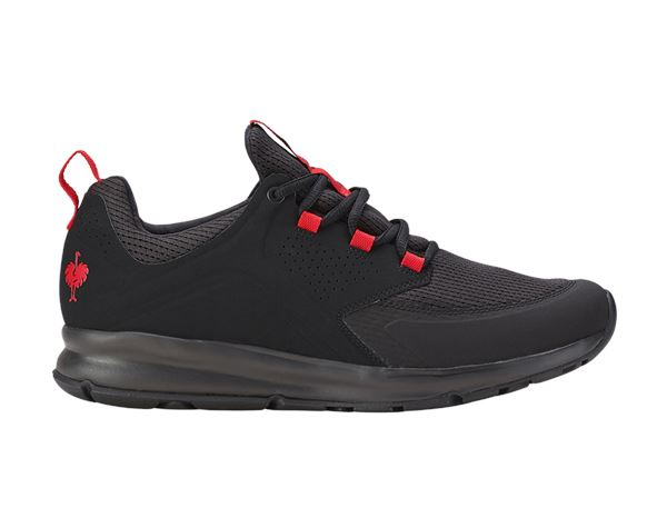 O1: e.s. O1 Work shoes Honnor, men's + oxidblack/red