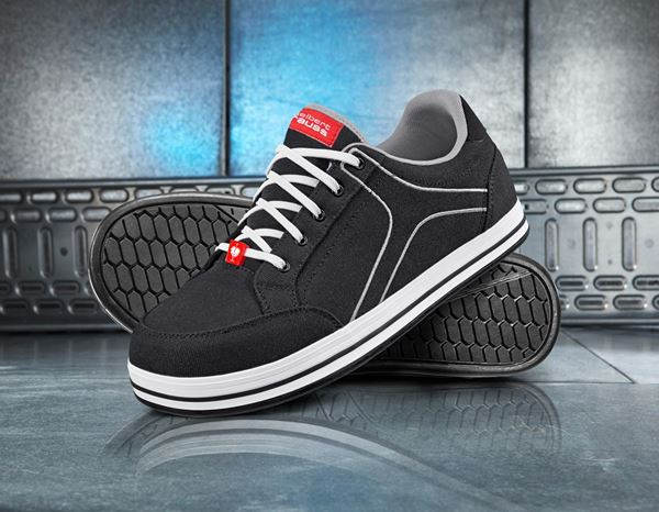 S1: e.s. S1 Safety shoes Tolosa low + black/lightgrey 1