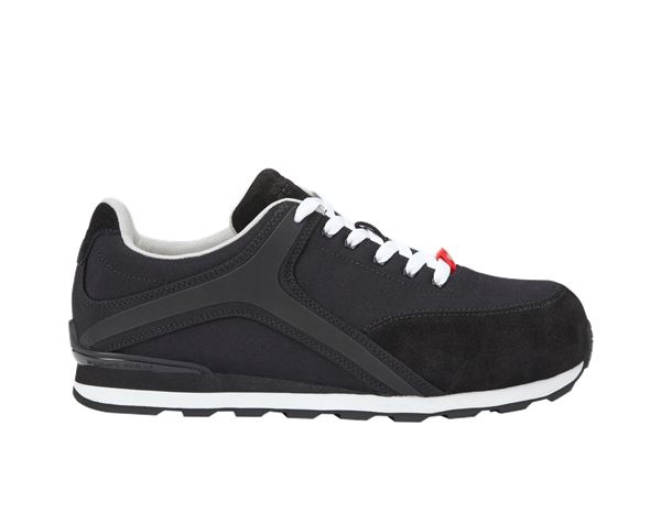 Safety Shoes S1P: e.s. S1P Safety shoes Sutur + black/white