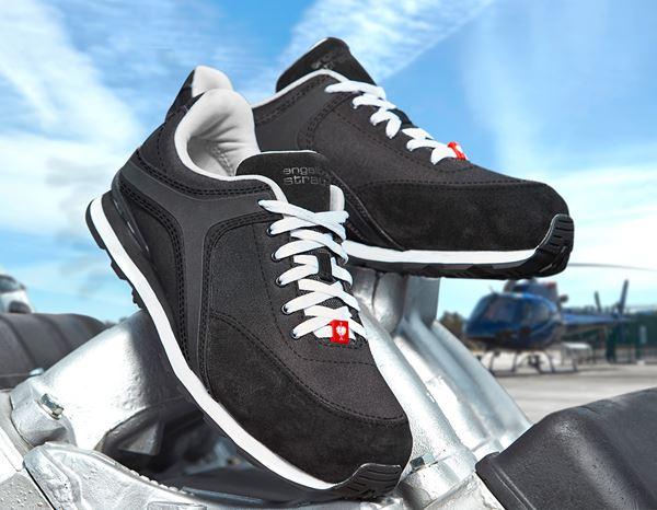 Safety Shoes S1P: e.s. S1P Safety shoes Sutur + black/white 1