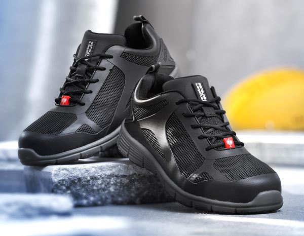 Safety Shoes S1: e.s. S1 Safety shoes Romulus low + black 1