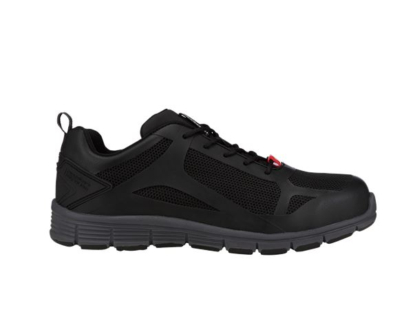 S1: e.s. S1 Safety shoes Romulus low + black