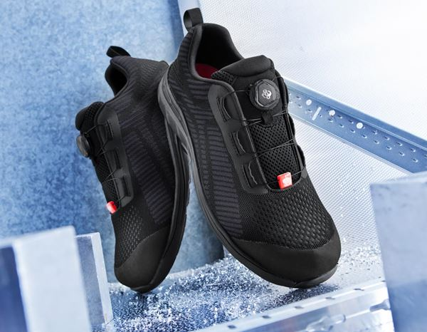 S1: e.s. S1 Safety shoes Tegmen II low + black/graphite 1