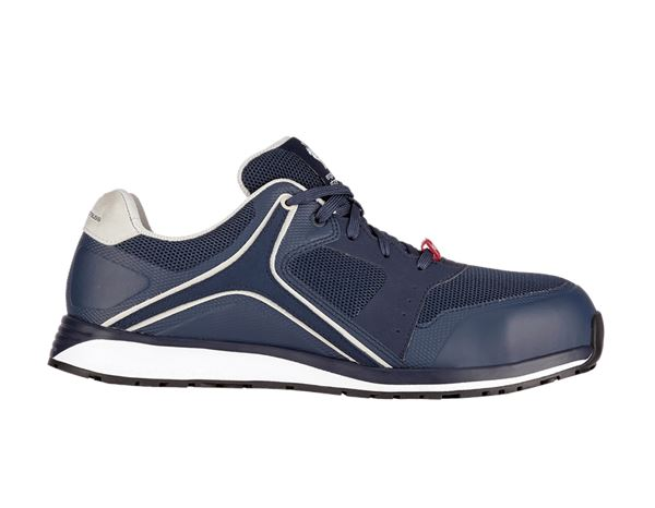 Safety Shoes S1: e.s. S1 Safety shoes Erebos + navy/fossil