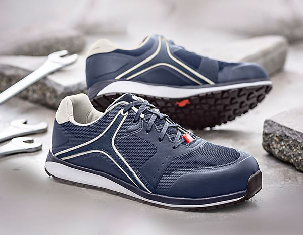 Safety Shoes S1: e.s. S1 Safety shoes Erebos + navy/fossil 1