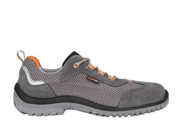 Safety Shoes S1: STONEKIT S1 Safety shoes Luca + anthracite/orange