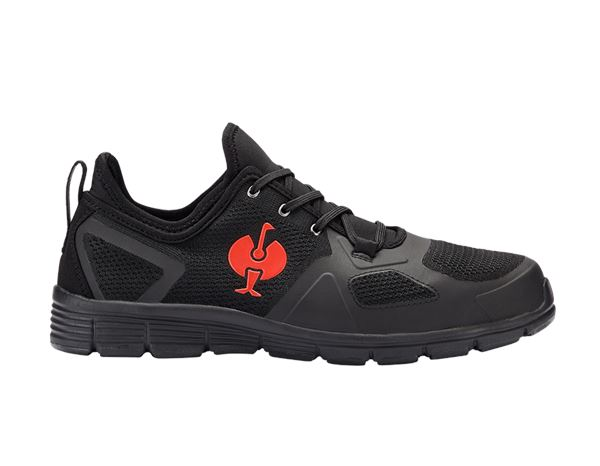 S1: S1 Safety shoes e.s. Manda + black/red