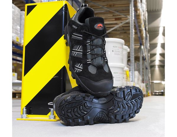 Safety Shoes S1: STONEKIT S1 Safety shoes Portland + black/asphalt 1