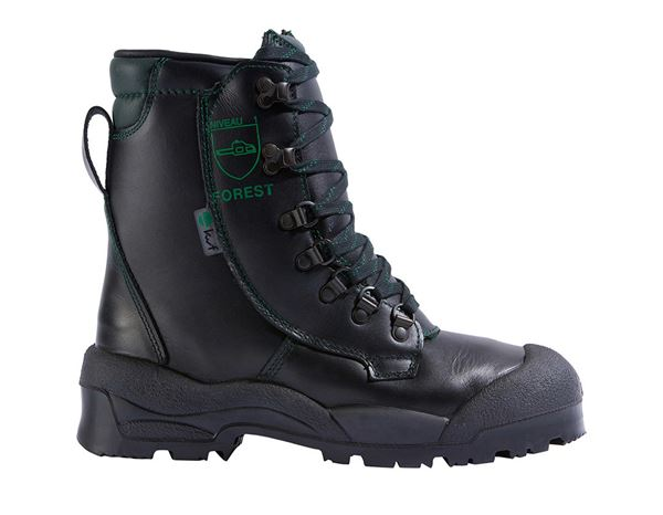 S2: S2 Forestry safety boots Alpin + black