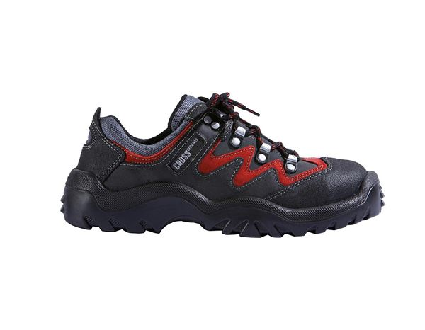 S2: S2 Safety shoes Spirit + black/red