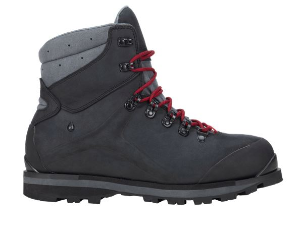 Safety Shoes S3: e.s. S3 Safety boots Alrakis mid + black/titanium/ruby